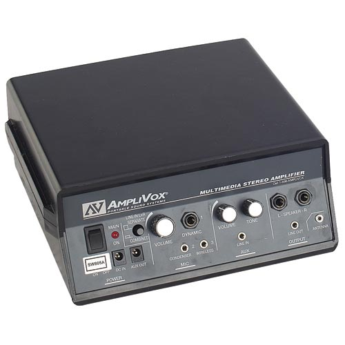 Amplivox S805A 50W Multimedia Stereo Amplifier