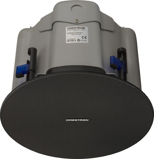 Crestron Saros 4in. 2-Way In-Ceiling Speaker, Black, Single