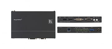 Kramer 4-Input Multi-Format over HDBaseT Transmitter & Step-IN Commander