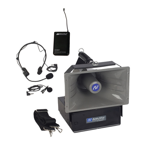 AmpliVox SW610A Wireless Half-Mile Hailer