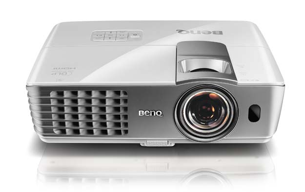 BenQ W1080ST 1080p Full-HD Home Theater Projector with Short Throw Ability