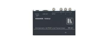 Kramer TP-41 Component Video & S/PDIF Audio over Twisted Pair Transmitter