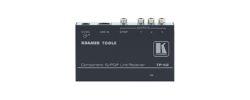 Kramer TP-42 Component Video & S/PDIF Audio over Twisted Pair Receiver