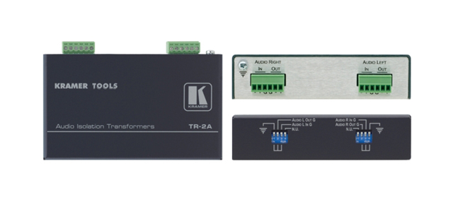 Kramer TR-2A Balanced Stereo Audio Isolation Transformer
