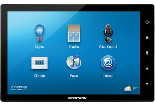 Crestron TSW-1052-B-S 10.1in. Touch Screen