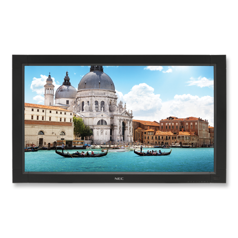 32-inch High-Performance Large-Screen Display with Speakers, AV Inputs & Integrated Tuner