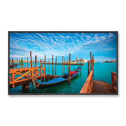 NEC V552AVT 55in. High-Performance LED Commercial Display w/ Digital Tuner