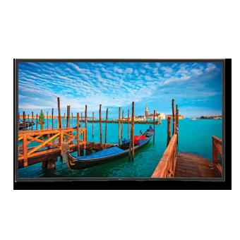 NEC V552 55in High-Performance LED Backlit Commercial Display w/ Speakers