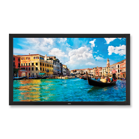 NEC V652 65in. High-Performance LED Commercial Display w/ Integrated Speakers