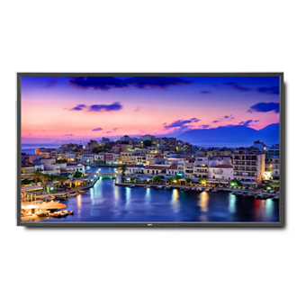 NEC V801AVT 80in. High-Performance LED Commercial Display w/ Digital Tuner