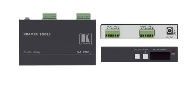Kramer VA-256XL Audio Delay for Balanced Stereo Audio