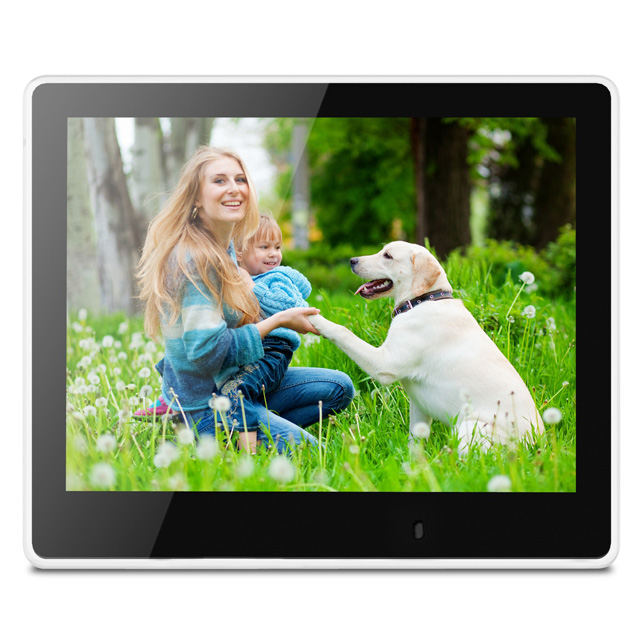 8-inch Multimedia Digital Photo Frame