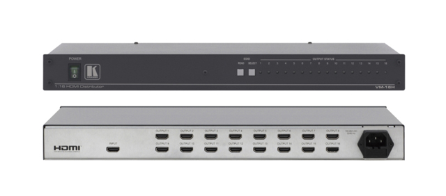 Kramer VM-16H 1:16 HDMI Distribution Amplifier