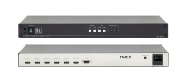Kramer VM-24H 2x1:4 HDMI Distribution Amplifier