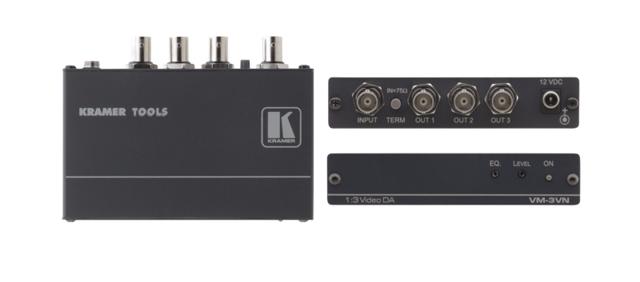 Kramer VM-3VN 1:3 Composite Video Distribution Amplifier
