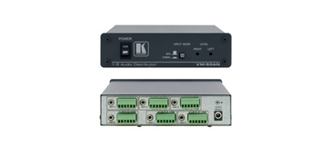 Kramer VM-50AN 1:5 Balanced & Unbalanced Stereo Audio Distribution Amplifier