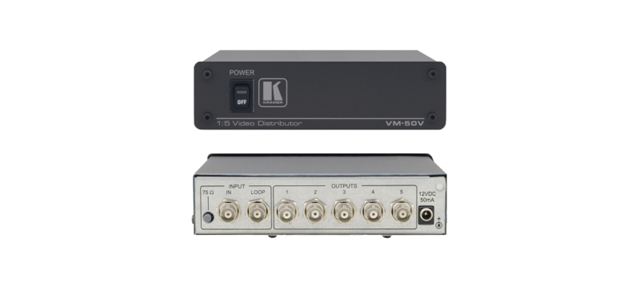 Kramer VM-50V 1:5 Composite Video Distribution Amplifier