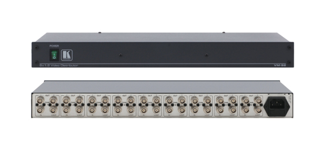 9 Channel Multi-Mode Video Distribution Amplifier