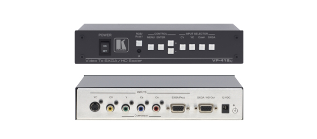 Video to Computer Graphics Video/HDTV ProScale Digital Scaler