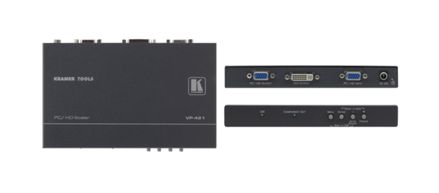 Computer Graphics Video & HDTV ProScale Digital Scaler (with DVI Output)