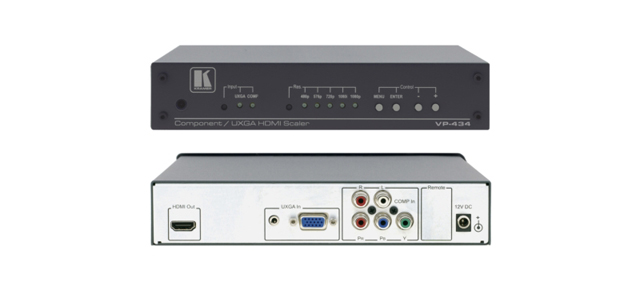 Component & Computer Graphics Video to HDMI ProScale Digital Scaler