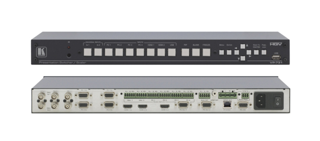 Kramer VP-731 9-Input ProScale Presentation Scaler/Switcher with Ethernet Control & Speaker Outputs