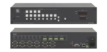 8x4 Computer Graphics Video & Stereo Audio Matrix Switcher