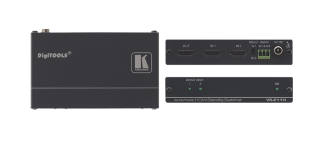 Kramer VS-211H 2 x 1 Automatic HDMI Standby Switcher