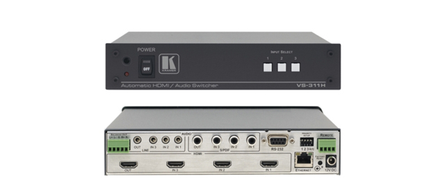 3x1 HDMI, Stereo & S/PDIF Audio Standby Switcher