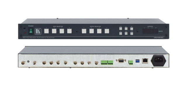Kramer VS-44HDxl 4x4 3G HD-SDI Matrix Switcher