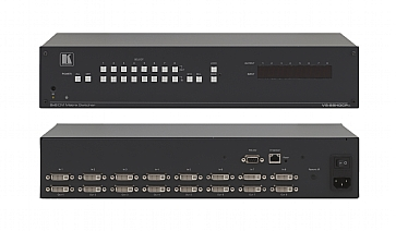 8 x 8 HDCP Compliant DVI Matrix Switcher