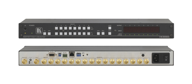 8x8 SDI Matrix Switcher