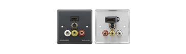 Passive Wall Plate - HDMI, s-Video & 3 RCA