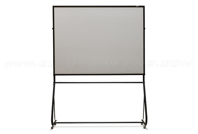 Elite ZWBMS-58 58in Portable Whiteboard Screen with Mobile Stand