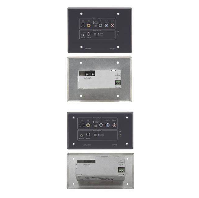 Kramer WP-27 Composite, s-Video, Component Video & Audio Transmitter Active Wall Plate