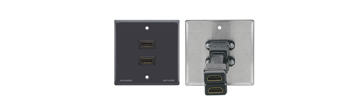 Passive Wall Plate - Dual HDMI
