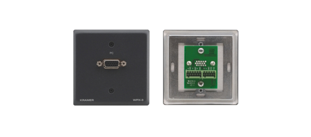 Passive Wall Plate - 15-pin HD