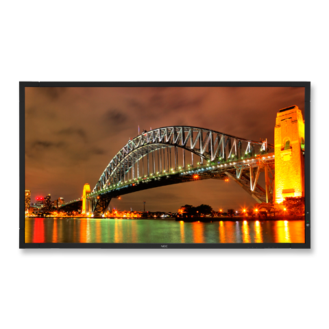 40-inch LED-Backlit, Super-Slim Display with Digital Tuner