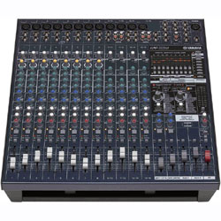 16-Input Yamaha EMX5016CF Powered Mixer/Amp