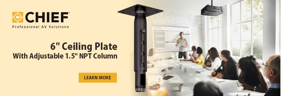 Chief Ceiling Plate Mount