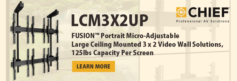 Chief LCM3X2UP Mount