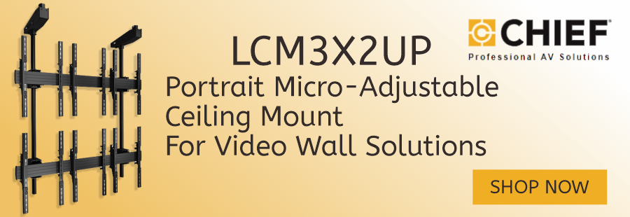 Chief LCM3X2UP Ceiling Mount for Video Walls