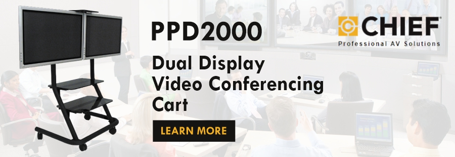 Chief Dual Display Video Conferencing