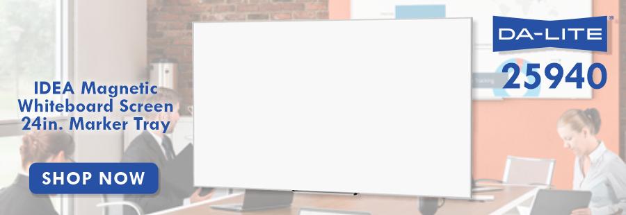 Da-Lite IDEA Magnetic Whiteboard Screen