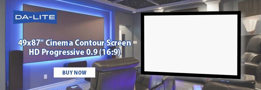 Da-Lite Cinema Contour Screen