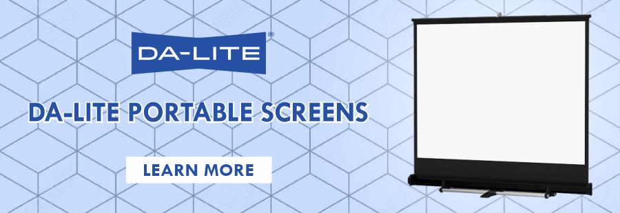 Da-Lite Portable Screens