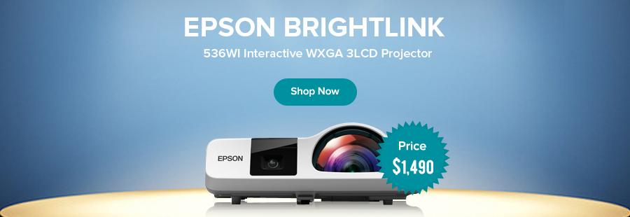 Epson Brightlink Short Throw Projectors