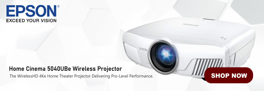 Epson Home Cinema 5040UBe Wireless Projector