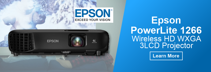Epson PowerLite 1266 Wireless Projector
