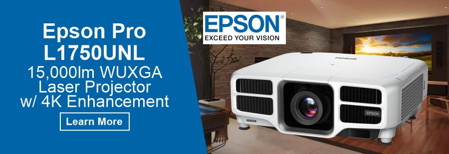 EPSON L175UNL Laser Projector